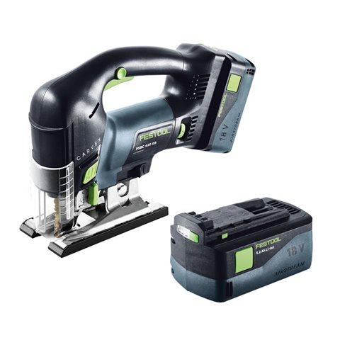 Festool PSBC 420 Li 5,2 EB-Plus Sticksåg med 5,2Ah batteri och TCL 6-laddare