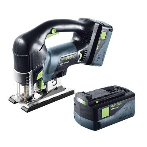 Festool PSBC 420 Li 5,2 EB-Set Sticksåg med systainer, 5,2Ah batteri och SCA 8-laddare