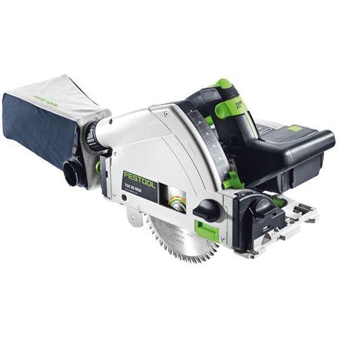 Festool TSC 55 Li 5,2Ah REB-Plus/XL-SCA Sänksåg med batterier och 2st SCA 8 laddare