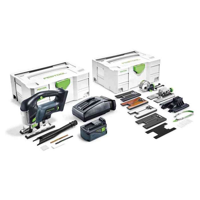 Festool PSBC 420 Li 5,2 EBI-Set Sticksåg med systainer, batteri och laddare