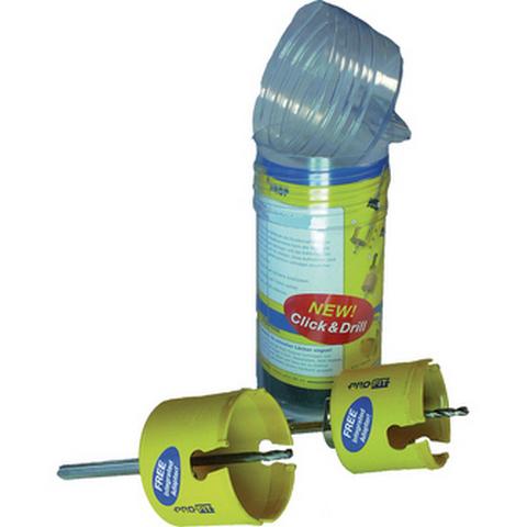 Pro-fit 35109087383 Hullsagsett 4 deler