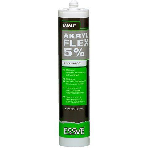 ESSVE FLEX 5%-serien Akryl hvit