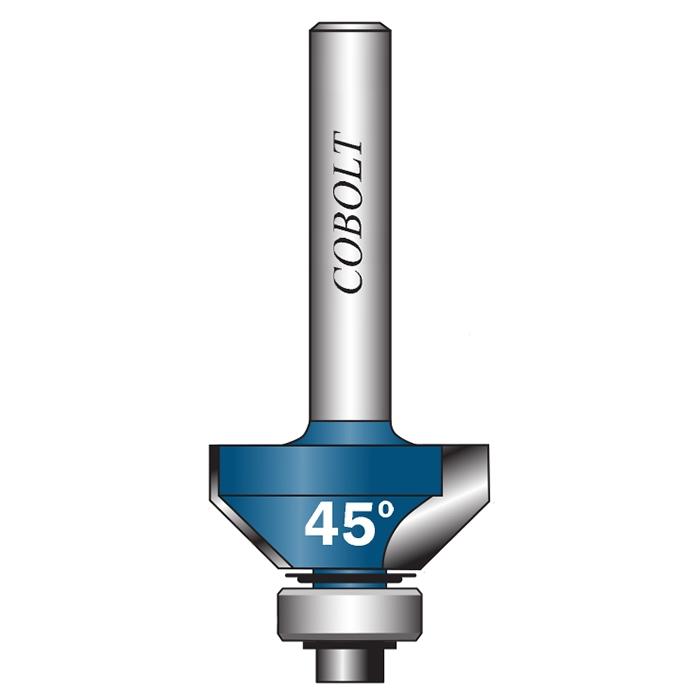 Cobolt 308-032 Fasfräs med styrlager