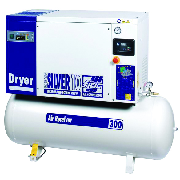 Fiac New Silver 1010 Skruvkompressor