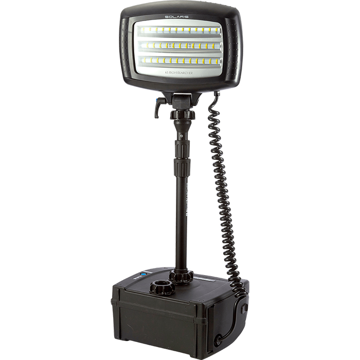 NightSearcher Solaris Lite Arbetslampa med 36Ah batteri