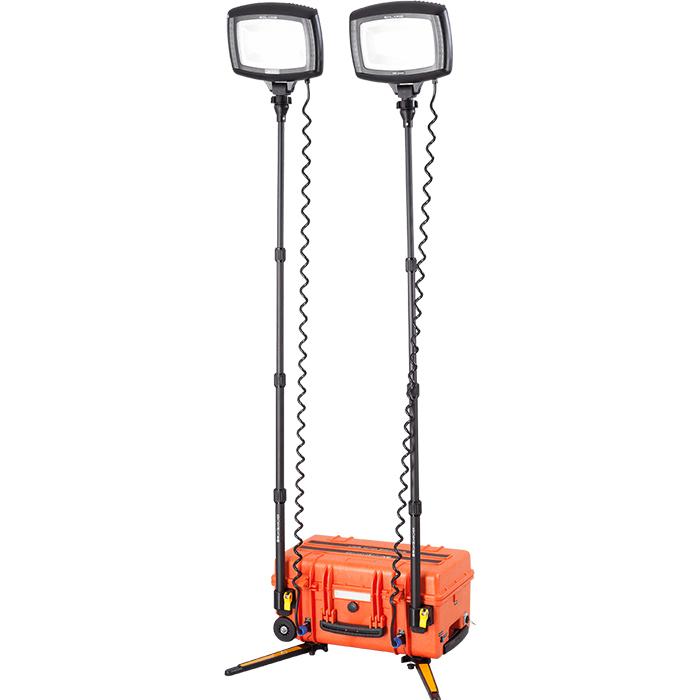 NightSearcher Solaris Duo Arbetslampa med 36Ah batteri