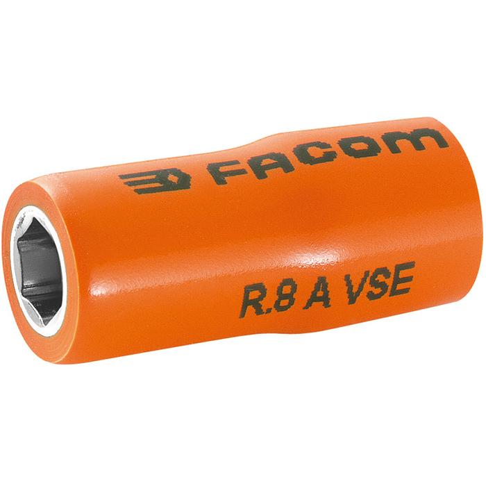 Facom R.12AVSE Hylsa 12mm 1/4 6k 1000V
