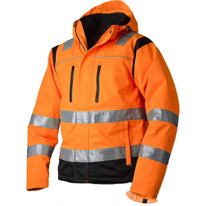 Vidar Workwear V40092507 Vinterjacka orange/svart XL