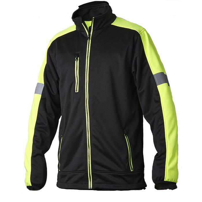 Vidar Workwear V70085106 Tröja gul/svart L