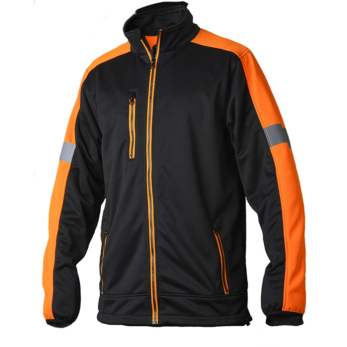 Vidar Workwear V70085205 Tröja orange/svart M