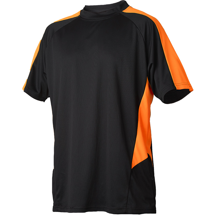 Vidar Workwear V71005204 T-shirt orange/svart S