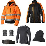 Vidar Workwear Orange-serien Vinterpaket