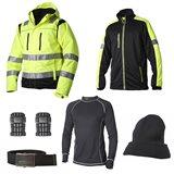 Vidar Workwear Gul-serien Vinterpaket