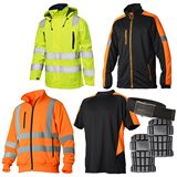 Vidar Workwear Orange-serien Sommarpaket