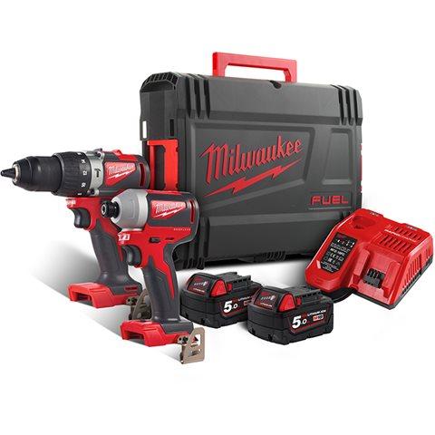 Milwaukee M18 BLPP2A2-502X Verktøypakke