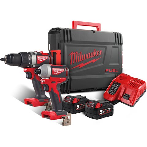 Milwaukee M18 BLPP2B2-502X Verktøypakke