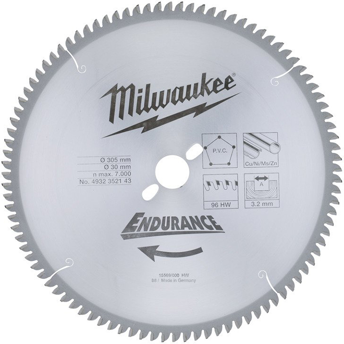 Milwaukee 4932471323 Sågklinga 305x3,0x30 mm, 96T