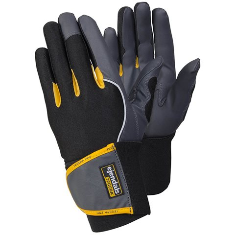 Tegera 9195-serien Monteringshanske Håndleddsstøtte, Microthan/Vibrothan