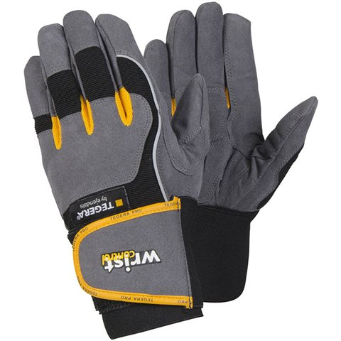 Tegera 9295 Monteringshanske Håndleddsstøtte, Microthan/Polyester