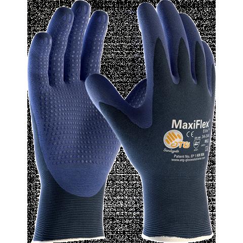 ATG MaxiFlex ELITE 34-244 Montagehandske blå med dot Strl 7