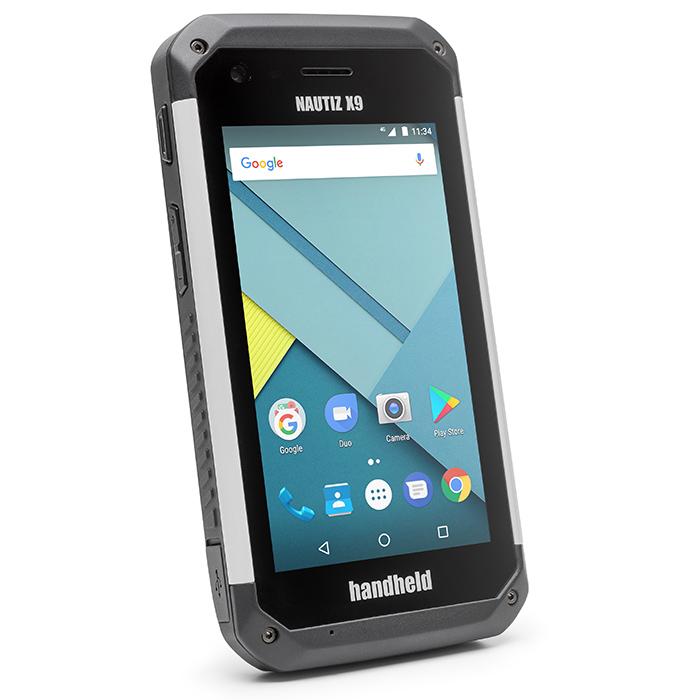 Handheld Nautiz X9 Handdator med Scanner