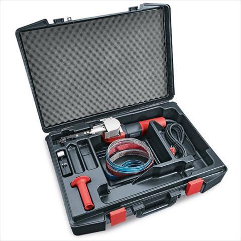 Flex FBE 8-140 Set Rørbåndsliper med tilbehør
