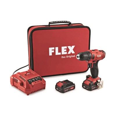 Flex DD 2G 108-LD Borrskruvdragare med 25Ah batterier och laddare