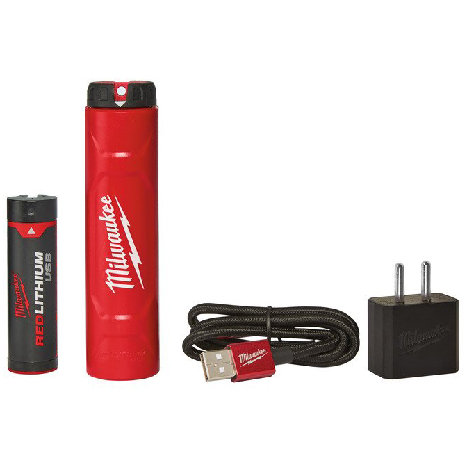 Milwaukee L4 NRG-201 USB-batteripaket