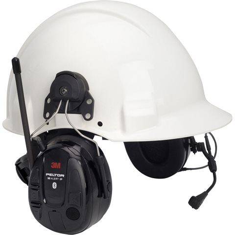 Prima 3M Peltor WS Alert XP Hörselskydd Bluetooth med hjälmfäste | Köp WV-15