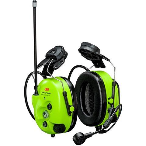 280d48d12 3M Peltor WS LiteCom III Hörselskydd, med hjälmfäste, Bluetooth, Hi-Viz