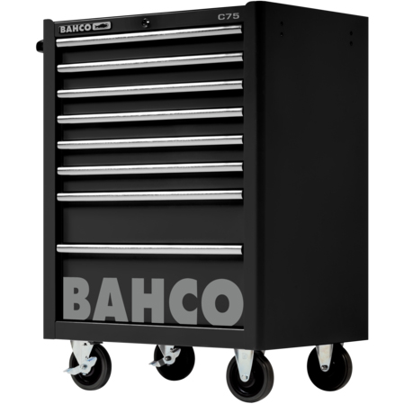 Bahco 1475K8BLACK Verktygsvagn utan verktygssats