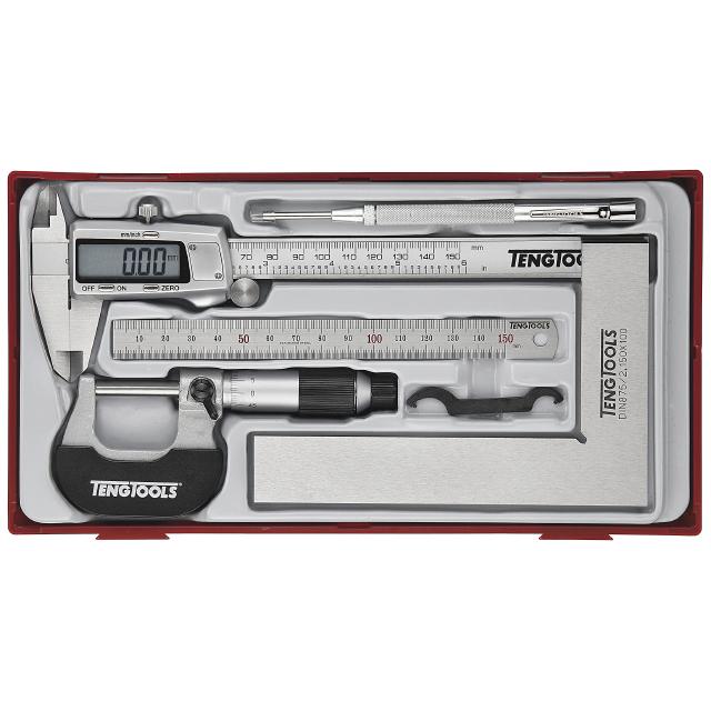 Teng Tools TTCM05D Skjutmått 5 delar