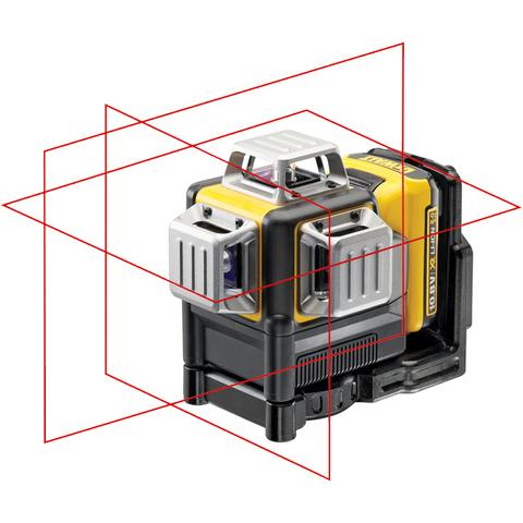 Dewalt DCE089D1R Krysslaser med rød laser