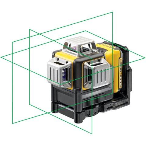 Dewalt DCE089D1G Krysslaser med grønn laser