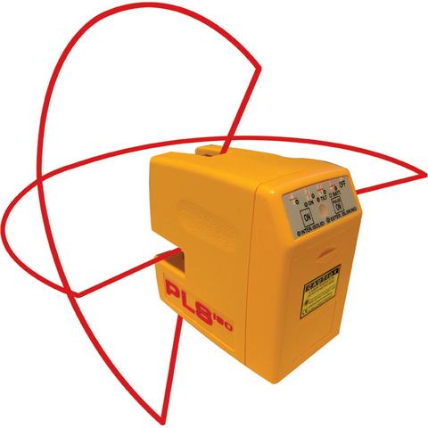 PLS 180 Krysslaser med rød laser