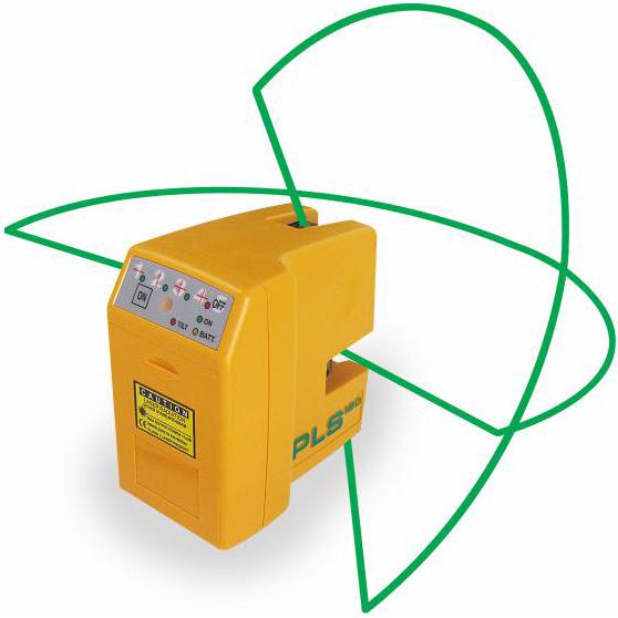 PLS 180 Korslaser med grön laser