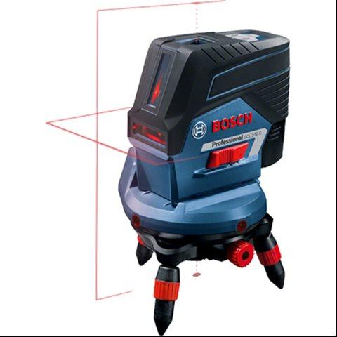 Bosch GCL 2-50 C Krysslaser med stativ, uten batteri og lader