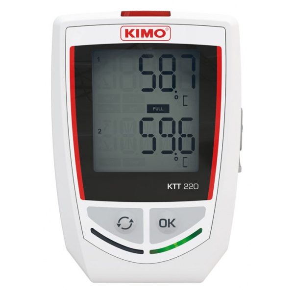 Kimo KTT220 Temperaturlogger