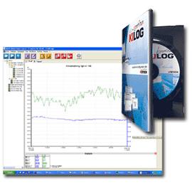 Kimo KILOG Programvara med USB-kabel till loggrar