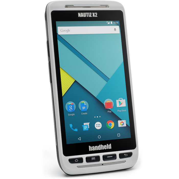 Handheld Nautiz X2 Stryktålig handdator med 1D Scanner