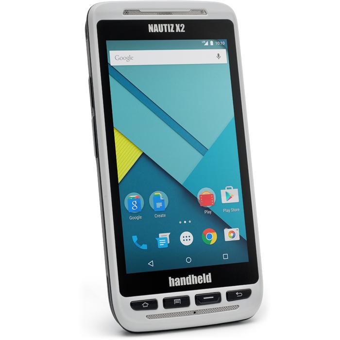 Handheld Nautiz X2 Stryktålig handdator med 2D Imager