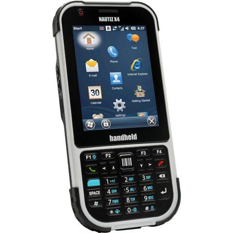 Handheld Nautiz X4 Slagfast hånddatamaskin med 2D Imager