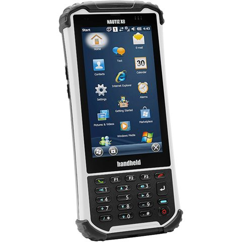 Handheld Nautiz X8 Slagfast hånddatamaskin med innebygd 3G-modem
