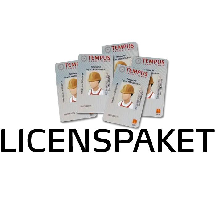 Tempus Licenspaket 25st användare