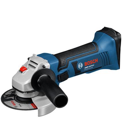 Bosch GWS 18-125 V-LI Vinkelsliper uten batterier og lader