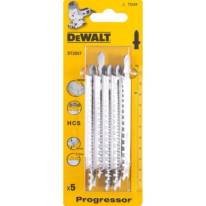 Dewalt DT2059 Sticksågsblad 5-pack