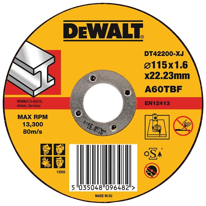 Dewalt Standard Kapskiva för metall 115x16x222mm