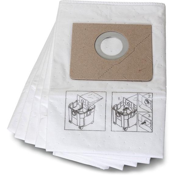 Fein 31345062010 Fiberfilterpåse 5-pack