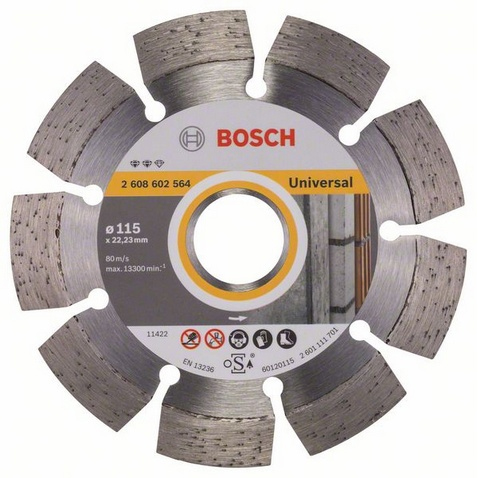 Bosch Expert for Universal Diamantkapskiva 115x2223mm