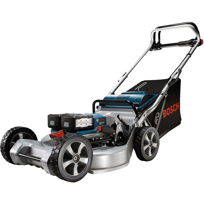 Bosch GRA 48 Gräsklippare med batterier och laddare